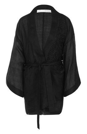 Жакет-кимоно с поясом | Фото №1