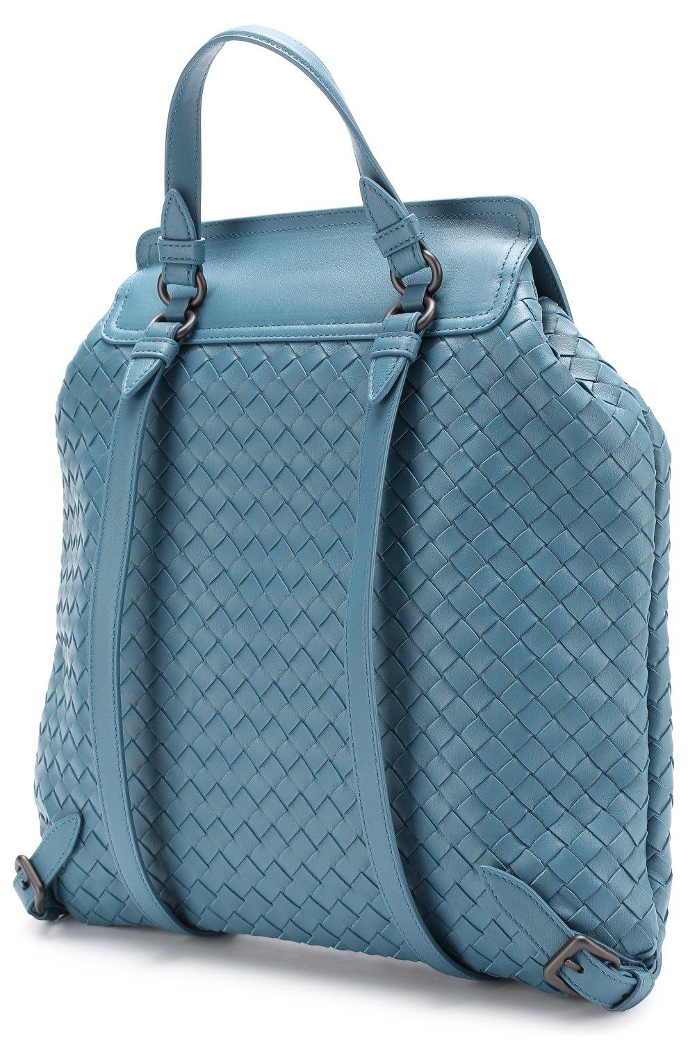 Кожаный рюкзак с плетением intrecciato   Фото №2