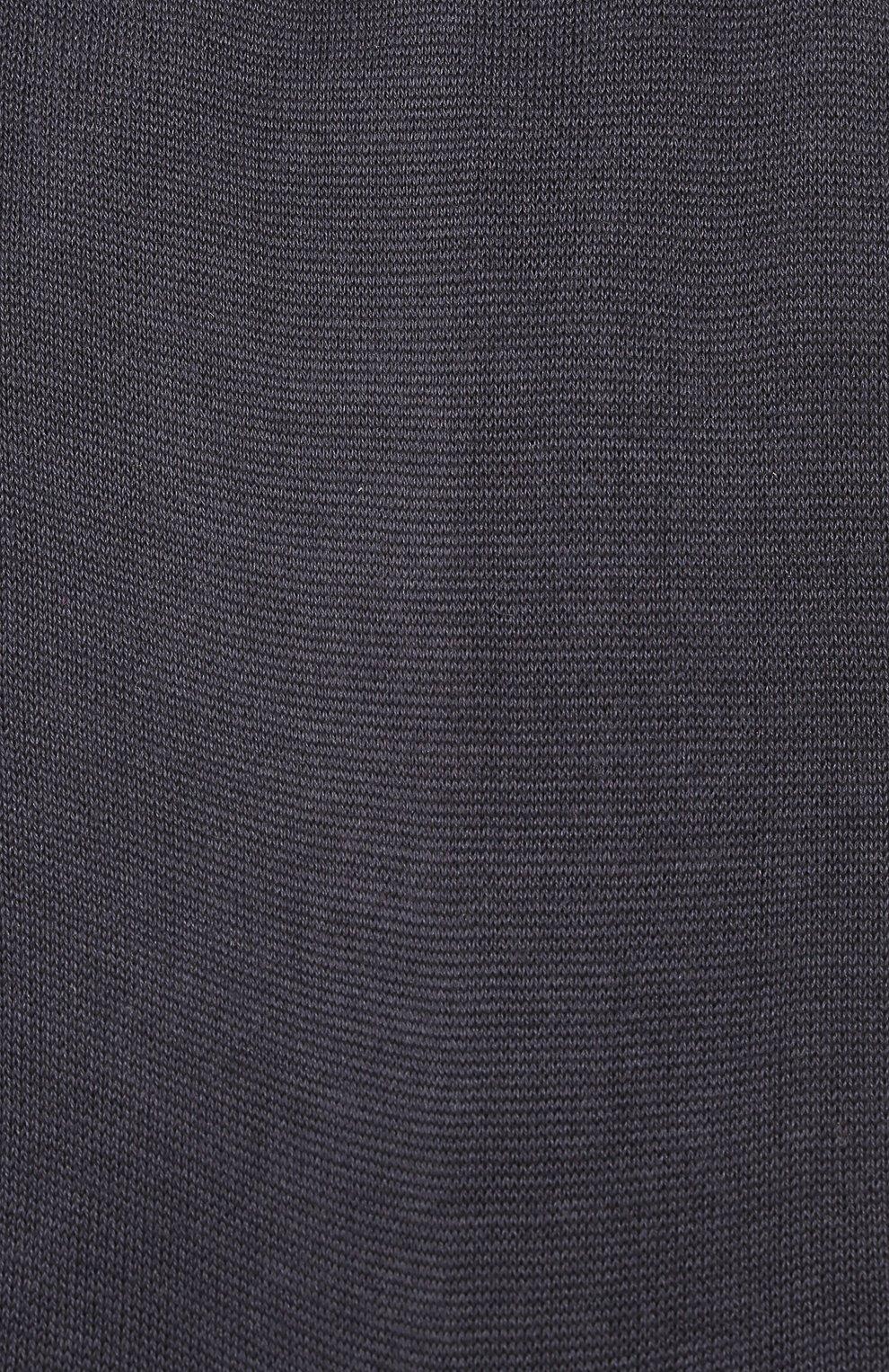Мужские шелковые носки ZIMMERLI темно-синего цвета, арт. 2561 | Фото 2 (Материал внешний: Шелк; Кросс-КТ: бельё; Статус проверки: Проверено)