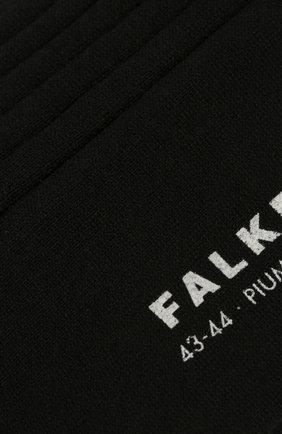 Мужские хлопковые носки FALKE черного цвета, арт. 14669 | Фото 2
