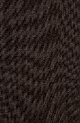Мужские хлопковые носки ZIMMERLI темно-коричневого цвета, арт. 2502   Фото 2