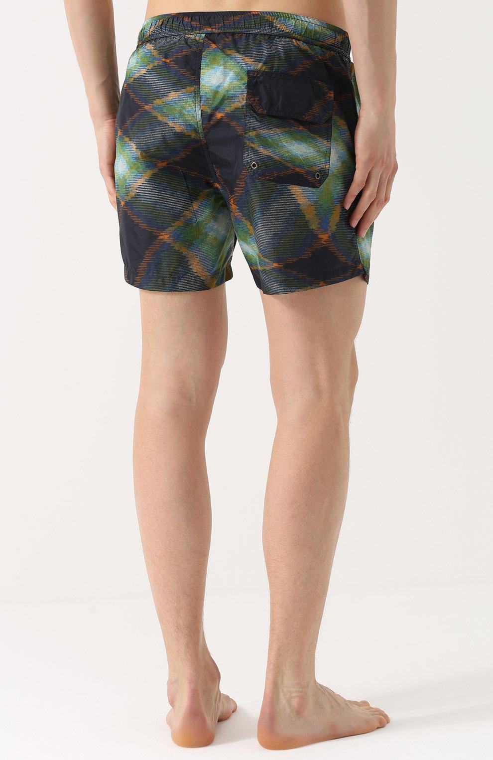 Плавки-шорты с принтом | Фото №4