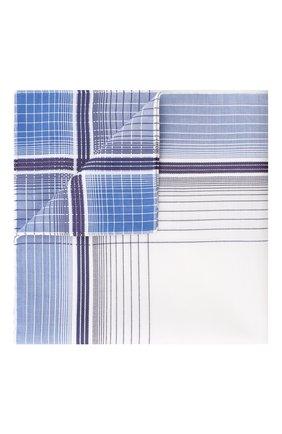 Мужской хлопковый платок SIMONNOT-GODARD синего цвета, арт. 0PERA | Фото 1
