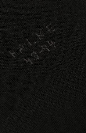 Мужские хлопковые подследники FALKE черного цвета, арт. 14624 | Фото 2