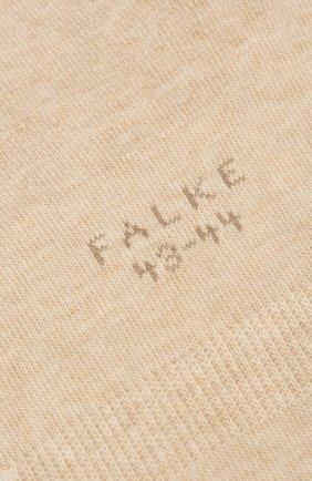 Мужские хлопковые подследники FALKE бежевого цвета, арт. 14624 | Фото 2