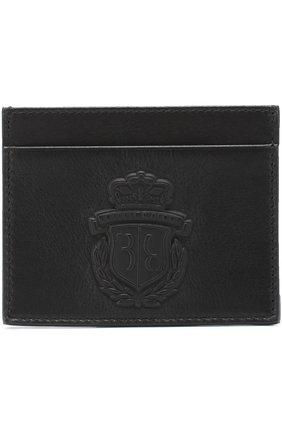 Мужской кожаный футляр для кредитных карт BILLIONAIRE черного цвета, арт. W17A MVG_0049 BLE001N | Фото 1
