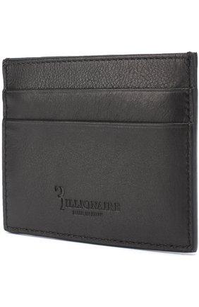 Мужской кожаный футляр для кредитных карт BILLIONAIRE черного цвета, арт. W17A MVG_0049 BLE001N   Фото 2