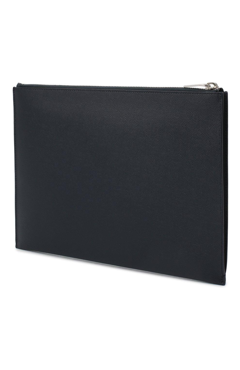 Кожаный чехол для iPad на молнии Saint Laurent  | Фото №2