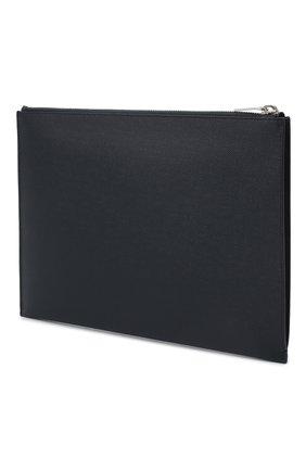 Кожаный чехол для ipad SAINT LAURENT темно-синего цвета, арт. 397294/BTY0N | Фото 2