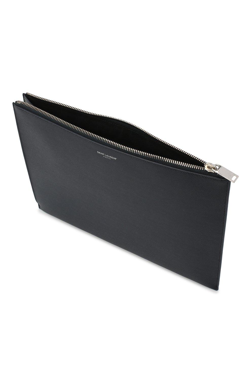 Кожаный чехол для iPad на молнии Saint Laurent  | Фото №3