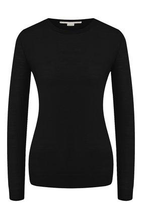 Женский шерстяной пуловер STELLA MCCARTNEY черного цвета, арт. 322182/S1735 | Фото 1