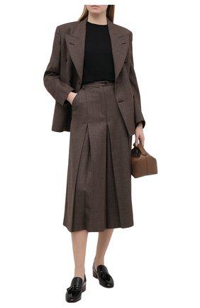 Женский шерстяной пуловер STELLA MCCARTNEY черного цвета, арт. 322182/S1735 | Фото 2