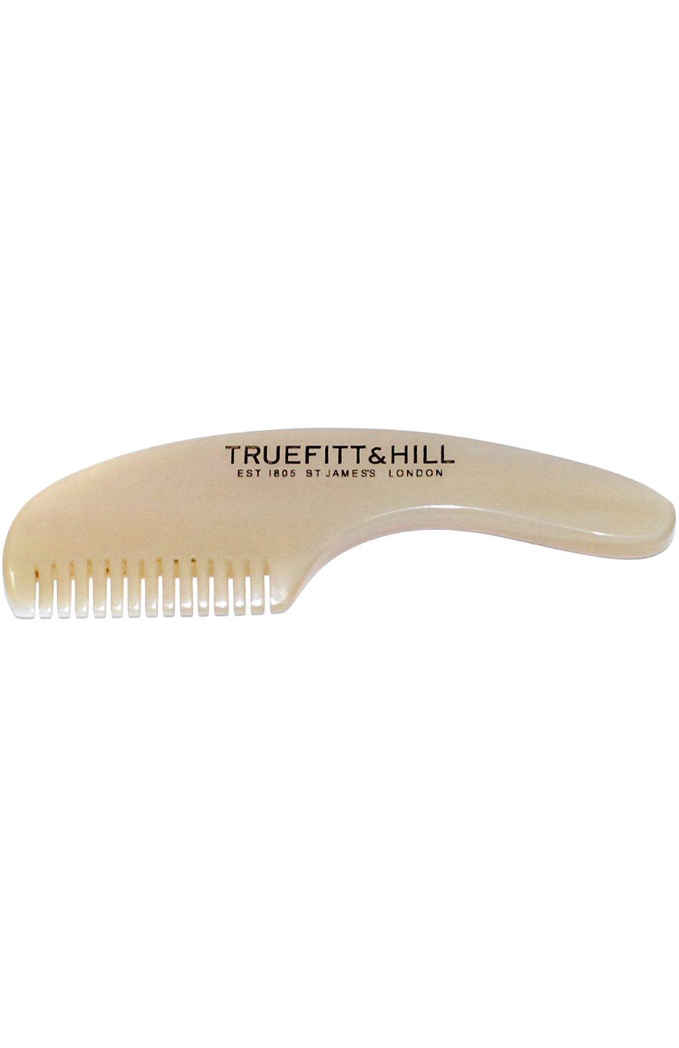 Мужская мужская расческа для усов и бороды TRUEFITT&HILL бесцветного цвета, арт. 00622   Фото 1 (Статус проверки: Проверена категория)