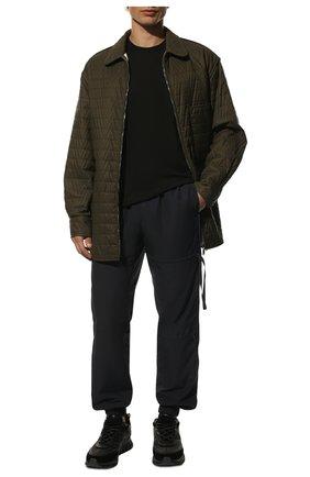 Хлопковая футболка Dolce & Gabbana черная | Фото №2