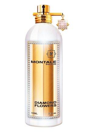 Парфюмерная вода diamond flowers бриллиантовая коллекция (100ml) MONTALE бесцветного цвета, арт. 3760260455664   Фото 1 (Статус проверки: Проверена категория; Ограничения доставки: flammable)