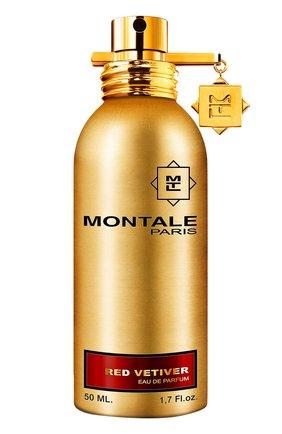 Мужской парфюмерная вода red vetiver MONTALE бесцветного цвета, арт. 3760260450294 | Фото 1