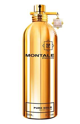 Парфюмерная вода pure gold MONTALE бесцветного цвета, арт. 3760260451987   Фото 1
