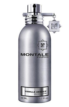 Парфюмерная вода vanille absolu MONTALE бесцветного цвета, арт. 3760260453554   Фото 1