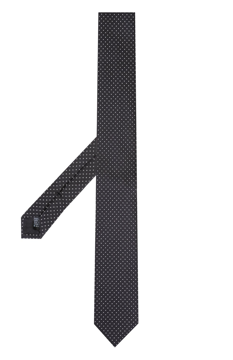 Шелковый галстук Dolce & Gabbana черного цвета | Фото №2