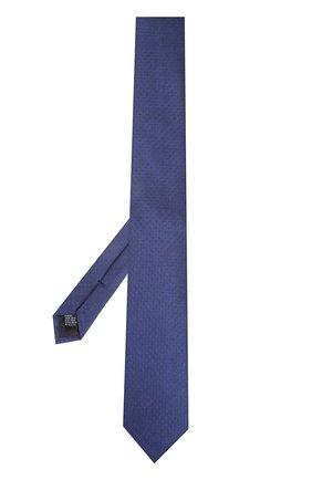 Шелковый галстук Dolce & Gabbana синего цвета   Фото №2