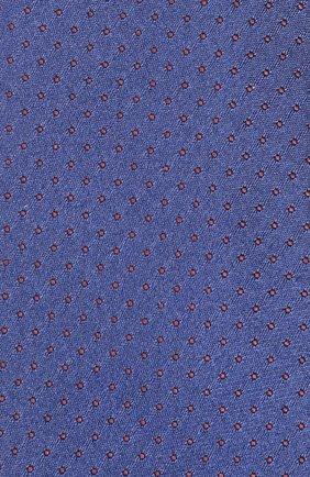 Шелковый галстук Dolce & Gabbana синего цвета   Фото №3