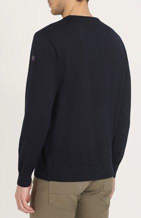 Шерстяной джемпер с вышивкой | Фото №4