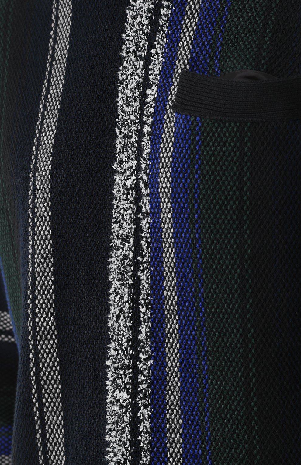 Хлопковый джемпер фактурной вязки | Фото №5