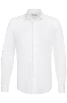 Мужская хлопковая сорочка с воротником кент VALENTINO белого цвета, арт. NV3ADR3C/1KG | Фото 1