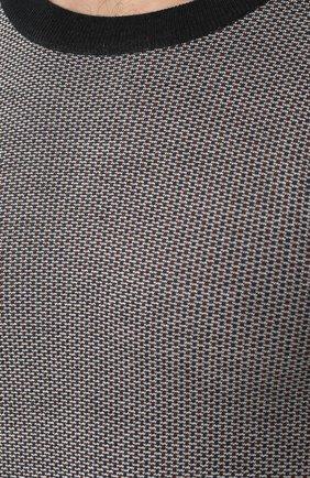 Джемпер из смеси шерсти и шелка с кашемиром   Фото №5