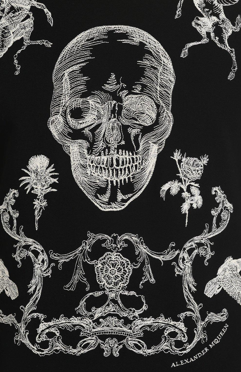 Свитшот с контрастной вышивкой | Фото №5