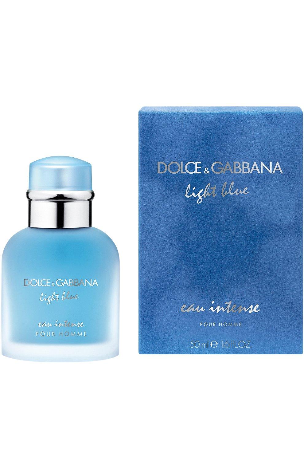 Парфюмерная вода Light Blue Intense Pour Homme   Фото №1