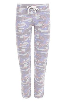 Укороченные брюки с принтом | Фото №1