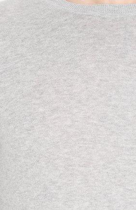 Джемпер тонкой вязки и смеси хлопка и кашемира | Фото №5