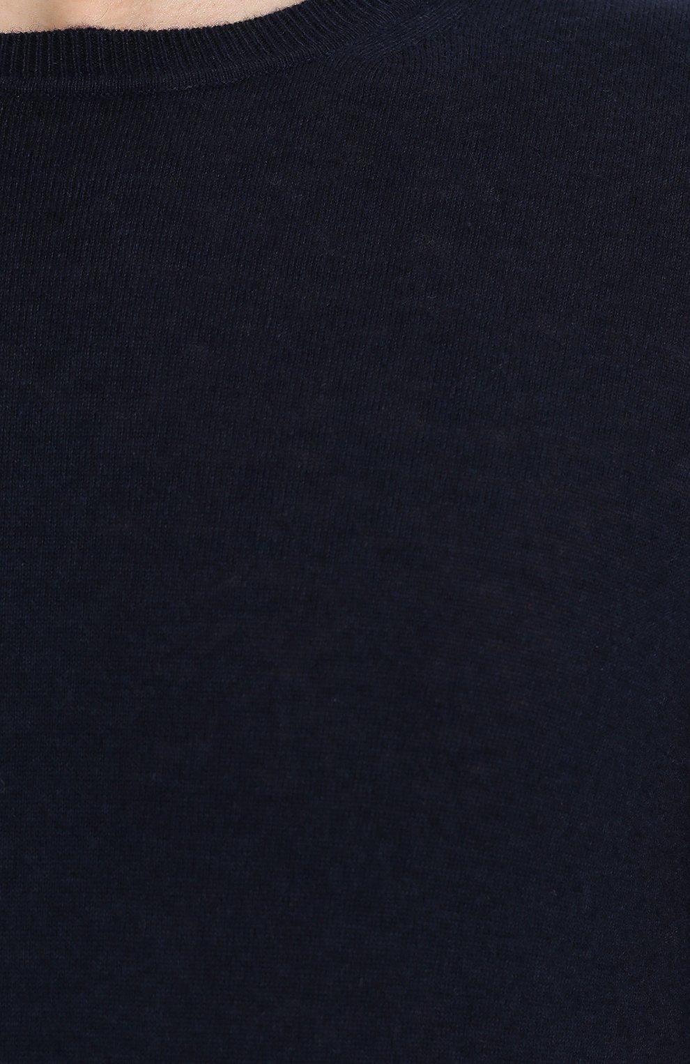 Джемпер тонкой вязки и смеси хлопка и кашемира   Фото №5