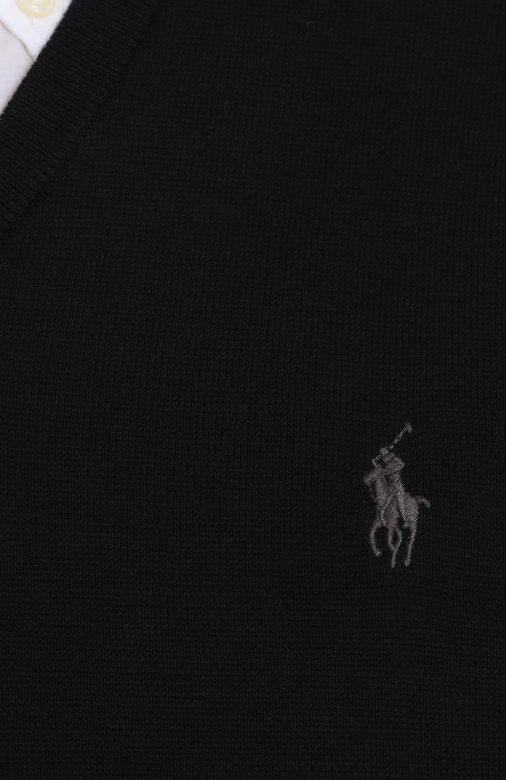 Хлопковый пуловер тонкой вязки   Фото №5