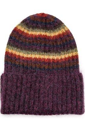 Вязаная шапка в полоску | Фото №1