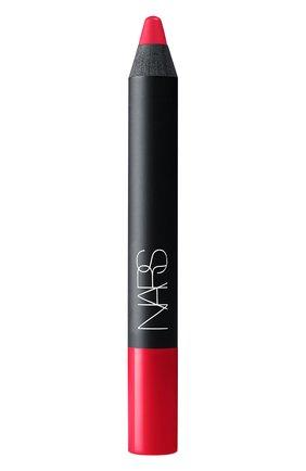 Матовый карандаш для губ, оттенок Famous Red | Фото №1