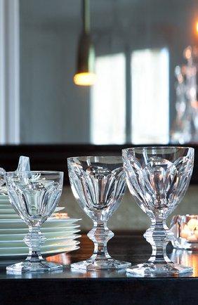 Мужского фужер для вина harcourt №2 BACCARAT прозрачного цвета, арт. 1 201 102 | Фото 2