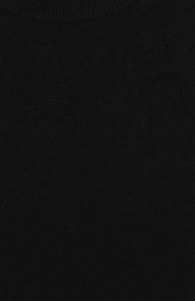 Однотонный хлопковый джемпер   Фото №5