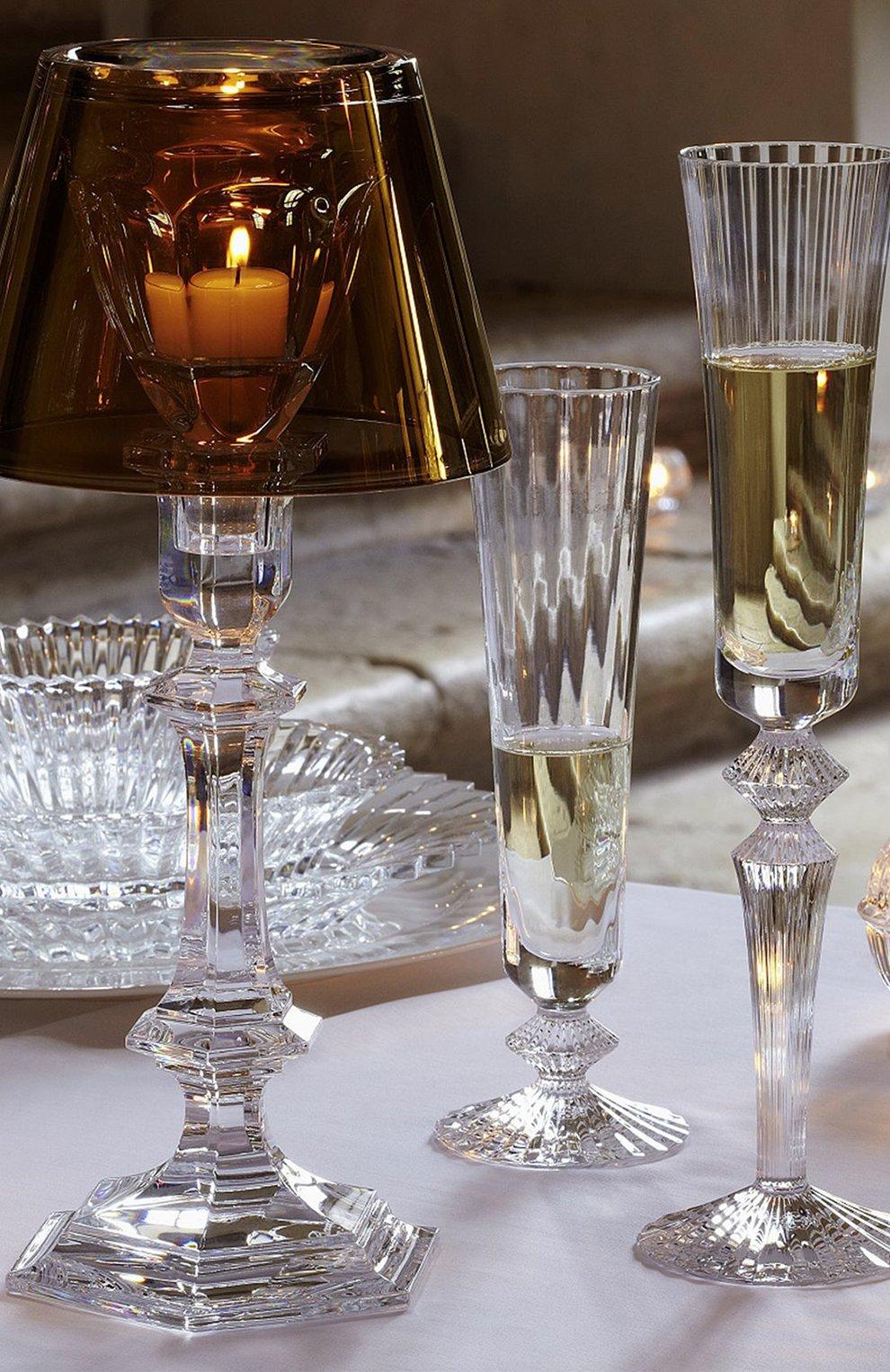 Мужского фужер для шампанского mille nuits BACCARAT прозрачного цвета, арт. 2 104 722   Фото 2