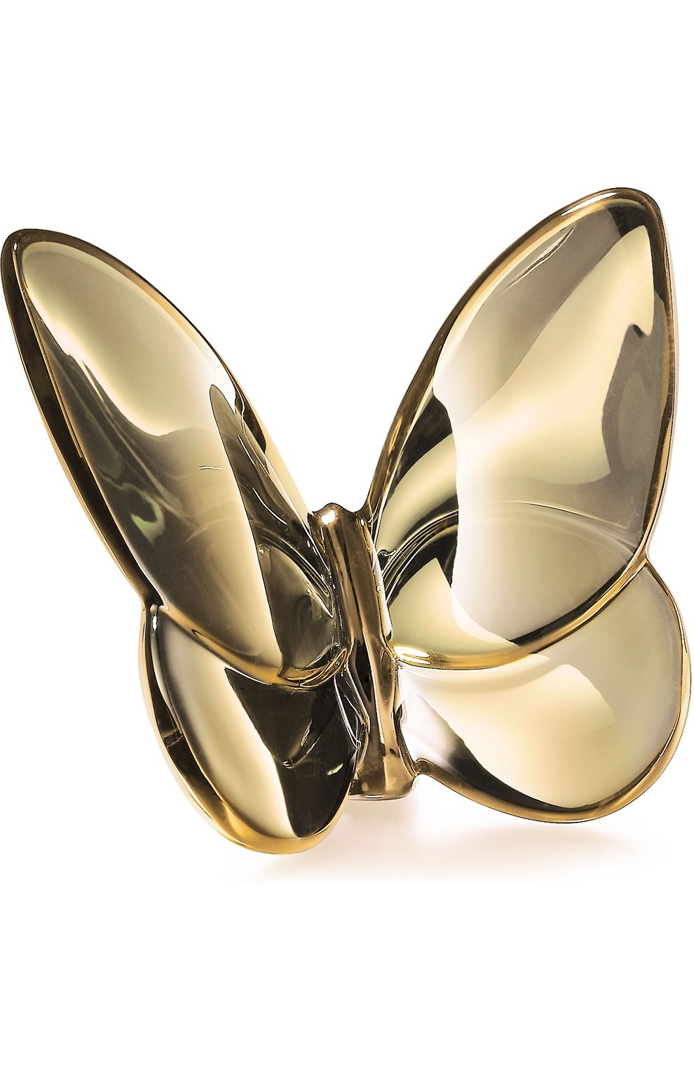 Мужского скульптура бабочка lucky gold BACCARAT золотого цвета, арт. 2 806 326 | Фото 1