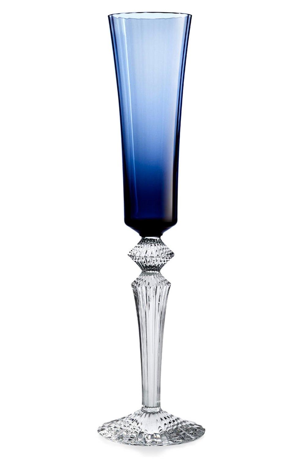 Мужского фужер для шампанского mille nuits midnight BACCARAT синего цвета, арт. 2 606 009 | Фото 1