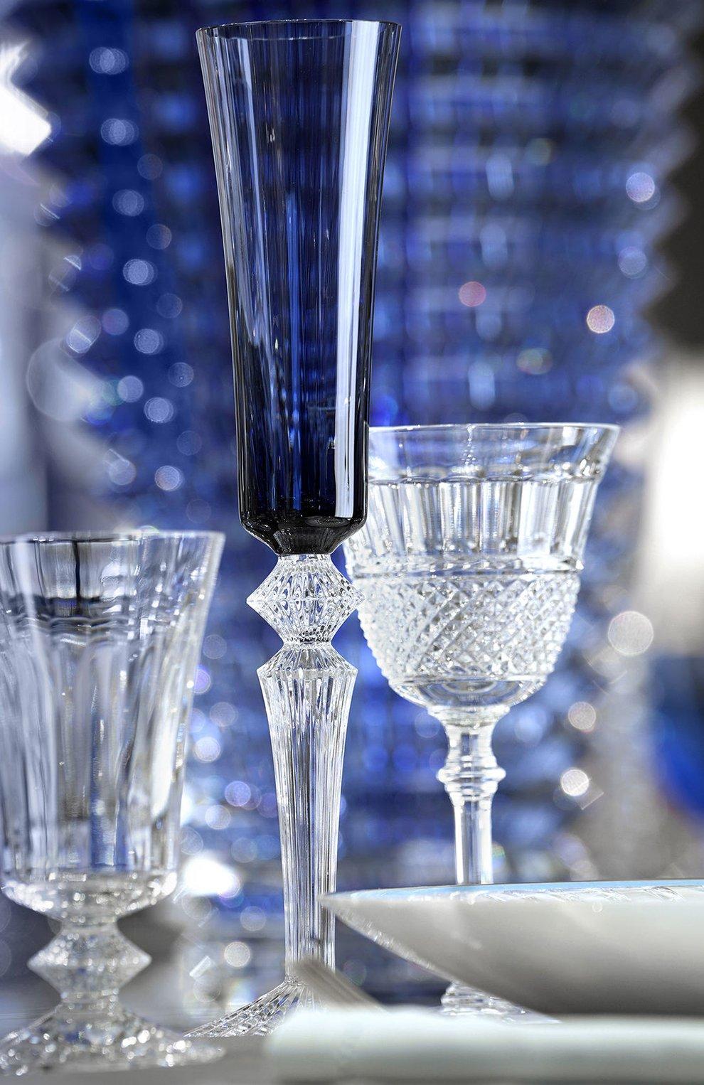 Мужского фужер для шампанского mille nuits midnight BACCARAT синего цвета, арт. 2 606 009 | Фото 2