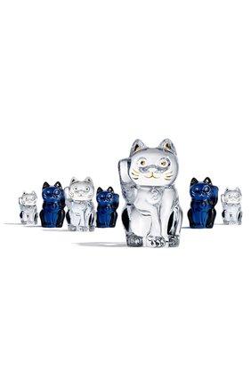 Мужского скульптура lucky cat BACCARAT прозрачного цвета, арт. 2 607 786   Фото 2