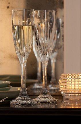 Мужского фужер для шампанского BACCARAT прозрачного цвета, арт. 2 609 210   Фото 2