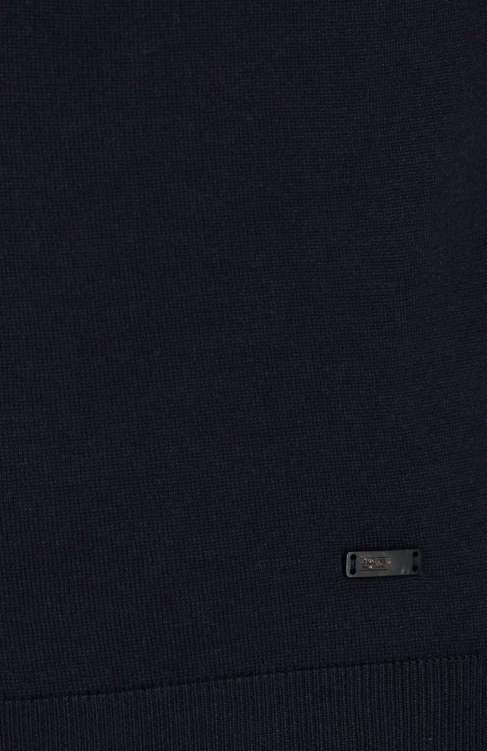 Шерстяной пуловер тонкой вязки | Фото №5