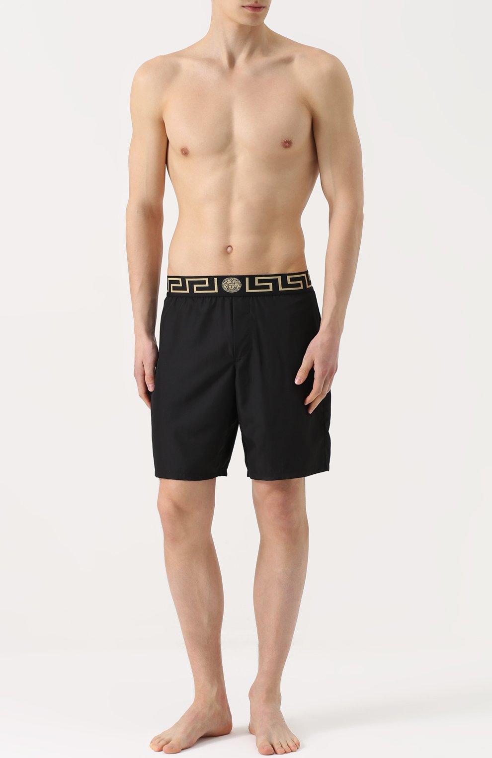 Плавки-шорты с широкой резинкой | Фото №2
