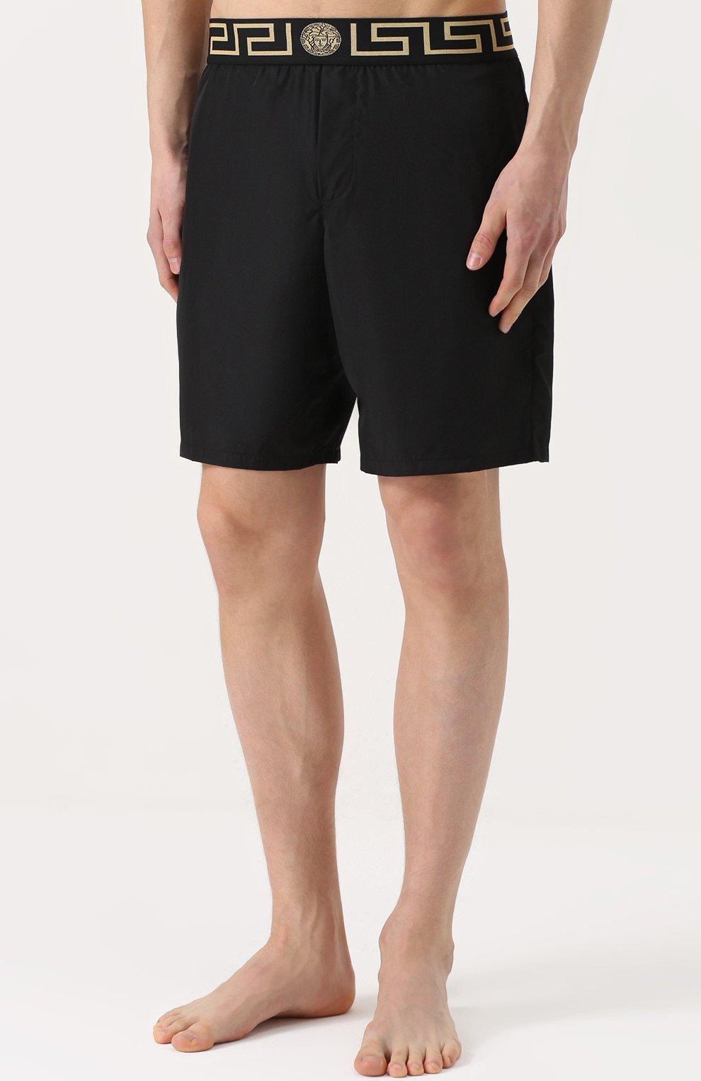 Плавки-шорты с широкой резинкой | Фото №3