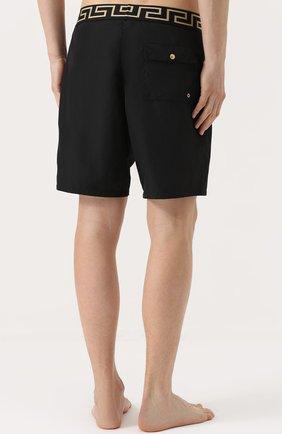 Плавки-шорты с широкой резинкой | Фото №4