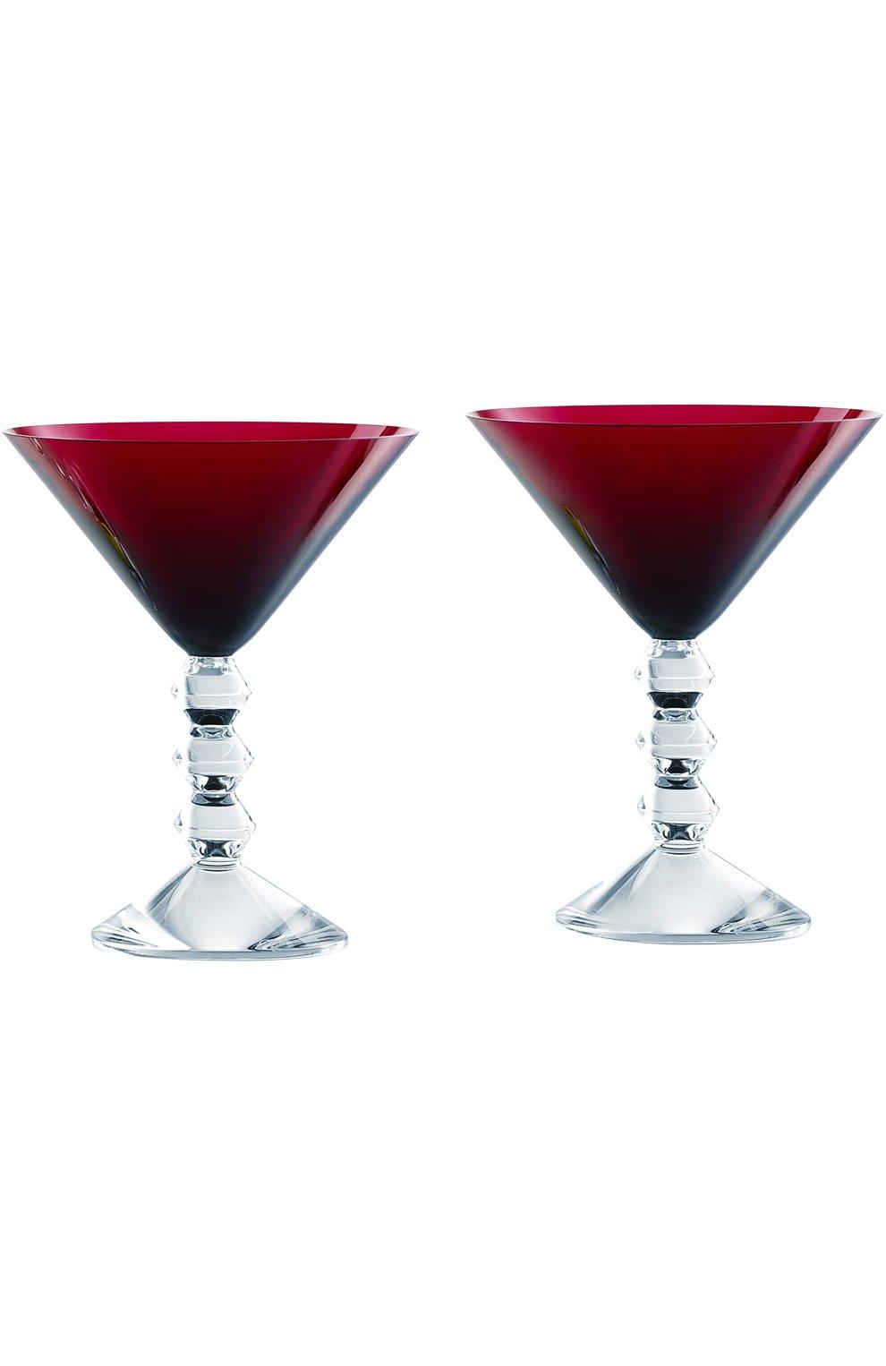 Мужского набор из 2-х бокалов для мартини vega BACCARAT красного цвета, арт. 2 810 900 | Фото 1